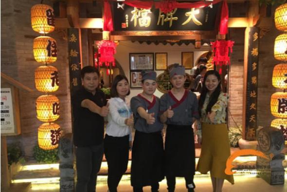 回访南京大牌档就业学子宛海洋