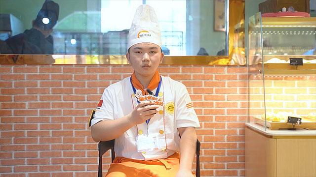 新生报到|专访金典总厨专业黄胜旺